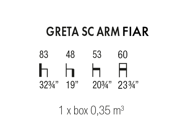 Greta SC Arm Fiar
