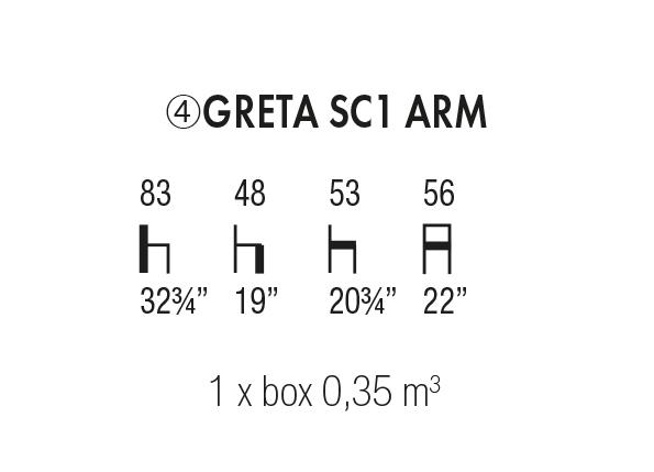 Greta SC 1 Arm