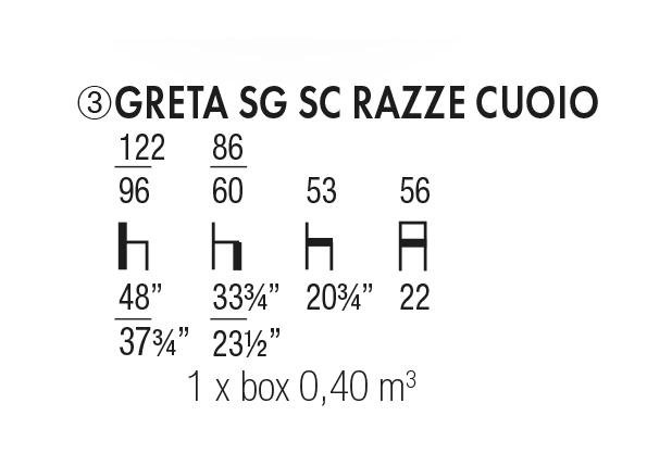 Greta SG SC Razze Cuoio